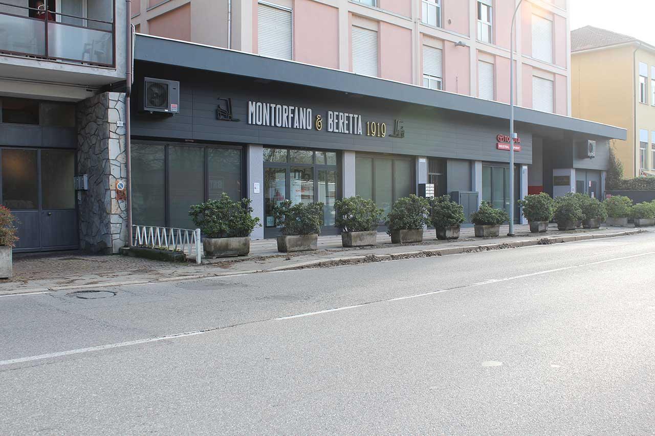 Facciata Montorfano & Beretta